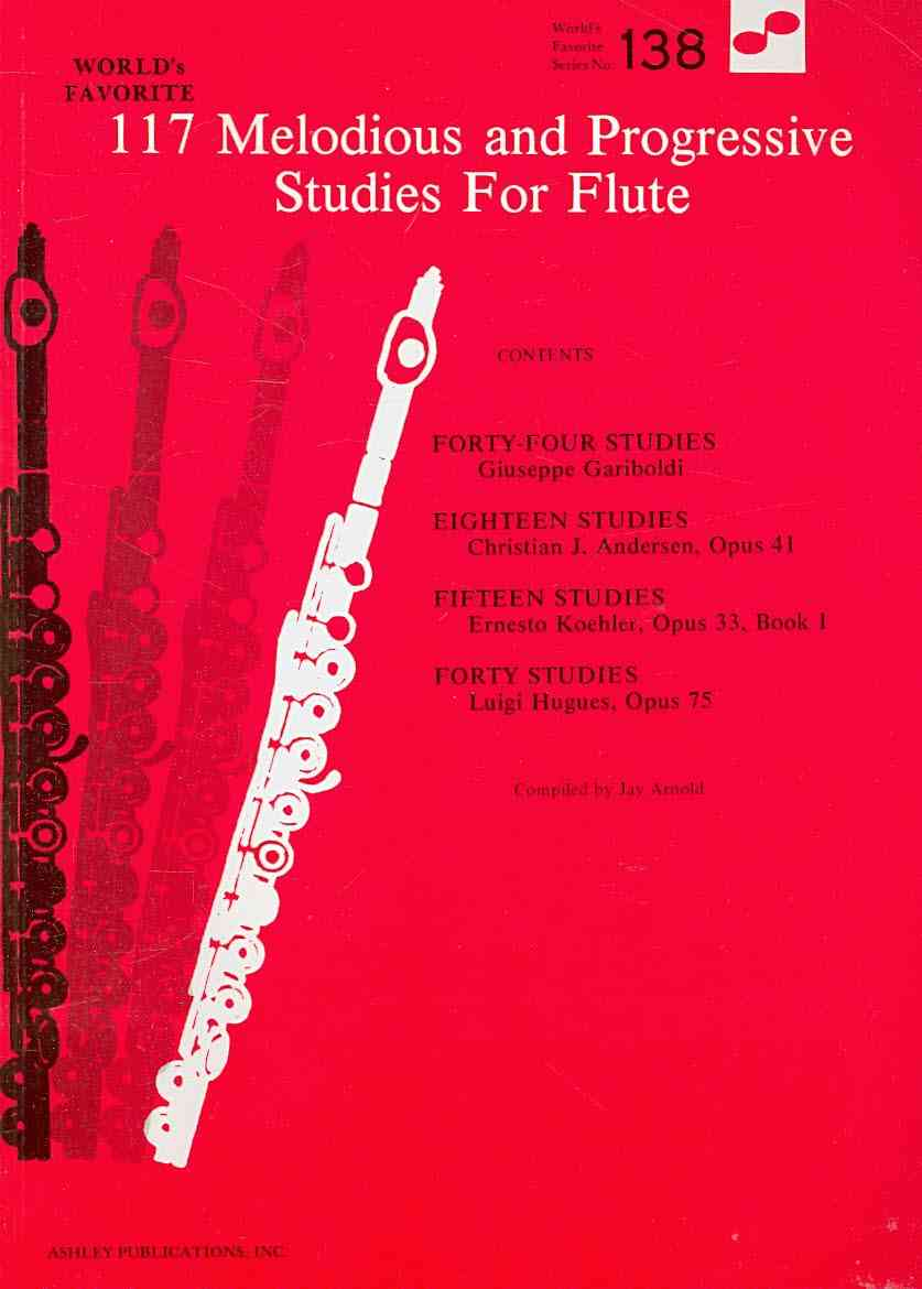 117 Melodious and Progressive Studies for Flute By Arnold, Jay (COM)
